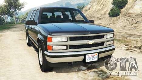 Chevrolet Suburban GMT400 pour GTA 5