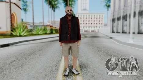 Hunter Costume Michael pour GTA San Andreas deuxième écran