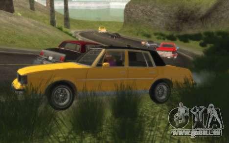 Situation de la vie 4.0 pour GTA San Andreas troisième écran