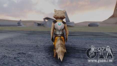 Marvel Future Fight - Rocket Raccon pour GTA San Andreas troisième écran