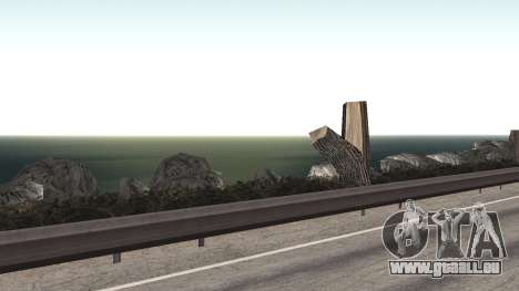 Road repair Los Santos - Las Venturas für GTA San Andreas zehnten Screenshot