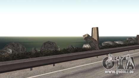 Route de réparation-Les Saints - Les entreprises pour GTA San Andreas dixième écran