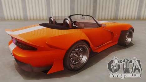 GTA 5 Bravado Banshee 900R für GTA San Andreas zurück linke Ansicht