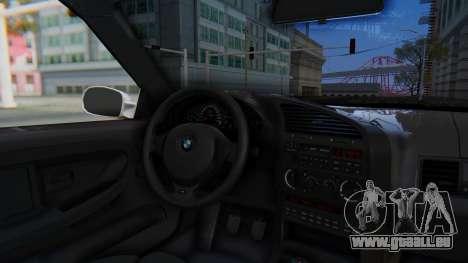 BMW 320i E36 MPower pour GTA San Andreas vue arrière