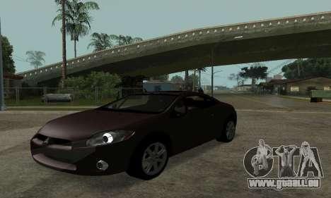 Mitsubishi Eclipse GT für GTA San Andreas rechten Ansicht