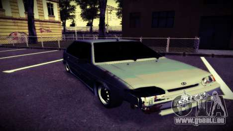 VAZ 2114 Brodyaga pour GTA San Andreas laissé vue