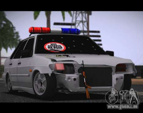 VAZ 2115 Hobo pour GTA San Andreas