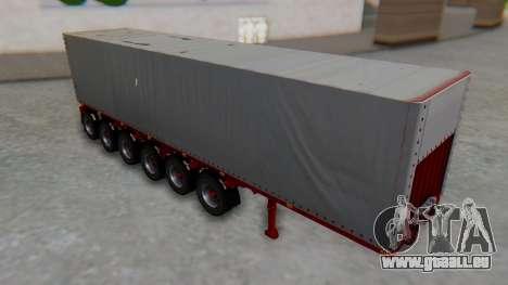 Trailer Colis Red für GTA San Andreas