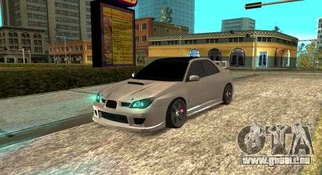 Subaru Impreza WRX STi 2007 pour GTA San Andreas