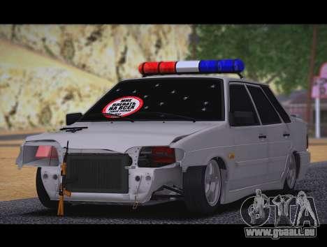 VAZ 2115 Hobo pour GTA San Andreas laissé vue