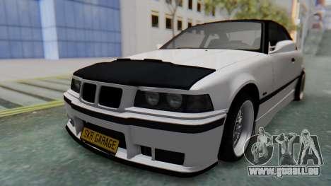 BMW 320i E36 MPower für GTA San Andreas rechten Ansicht