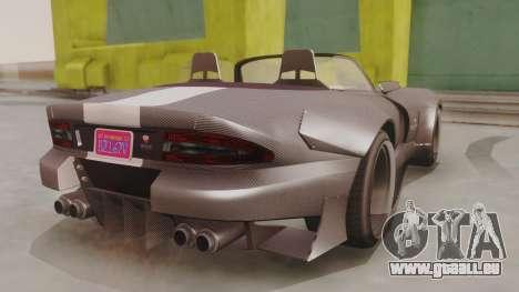 GTA 5 Bravado Banshee 900R Carbon pour GTA San Andreas laissé vue