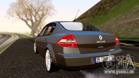Renault Megane CPJ pour GTA San Andreas laissé vue