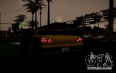 Elegy Speedhunters für GTA San Andreas Innen