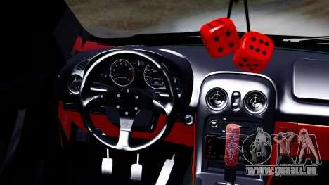 Chevrolet Aveo Stance pour GTA San Andreas vue de droite