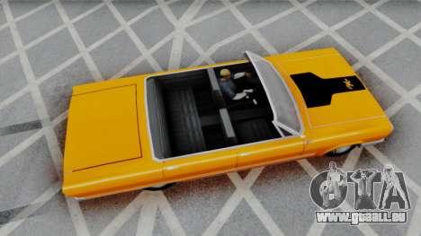 Savanna 2F2F Challenger PJ pour GTA San Andreas laissé vue