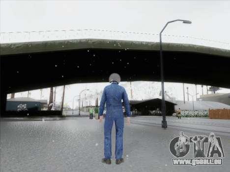 Le pilote de CR de la Fédération de russie pour GTA San Andreas deuxième écran