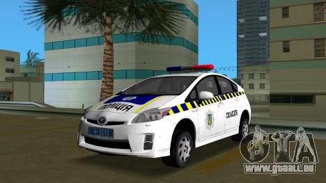 Toyota Prius Polizei Der Ukraine für GTA Vice City