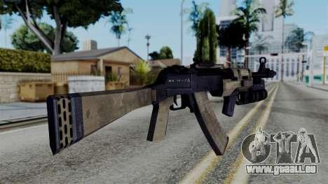 CoD Black Ops 2 - AN-94 pour GTA San Andreas deuxième écran