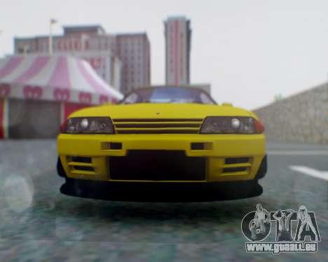 Nissan Skyline R32 GTR pour GTA San Andreas vue de droite