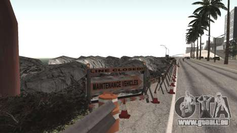Road repair Los Santos - Las Venturas für GTA San Andreas fünften Screenshot