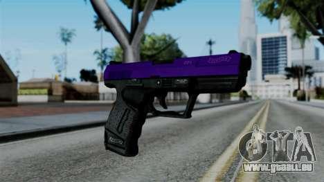 Purple Desert Eagle für GTA San Andreas