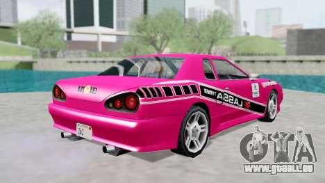 Elegy 4 Drift Drivers V2.0 pour GTA San Andreas vue de droite