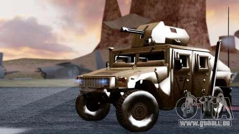HUMVEE M1114 Desert für GTA San Andreas