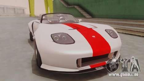 GTA 5 Bravado Banshee 900R IVF pour GTA San Andreas vue de droite
