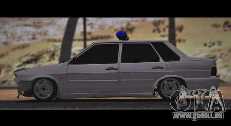 VAZ 2115 Hobo pour GTA San Andreas vue de droite