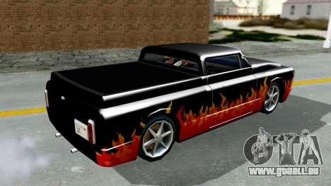 Blade New PJ für GTA San Andreas zurück linke Ansicht