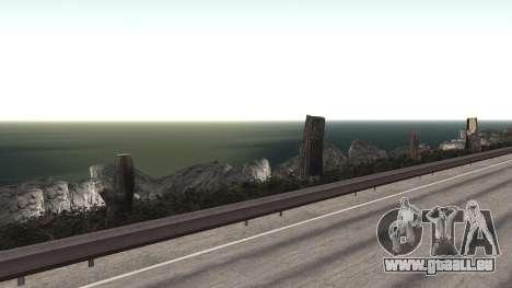 Route de réparation-Les Saints - Les entreprises pour GTA San Andreas neuvième écran