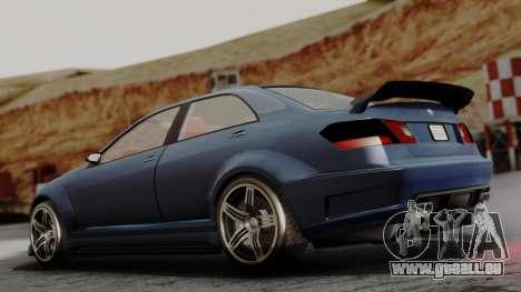 GTA 5 Benefactor Schafter V12 für GTA San Andreas linke Ansicht