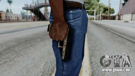 Glock 18 Sand Frame pour GTA San Andreas troisième écran