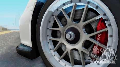 Porsche 911 GT3 Cup pour GTA San Andreas vue de droite
