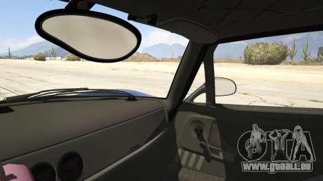 GTA 5 Ferrari F50 Autovista arrière droit vue de côté
