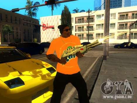 T-Shirt Fanta für GTA San Andreas dritten Screenshot