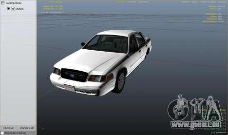 GTA 5 Ford Crown Victoria Detective rechte Seitenansicht