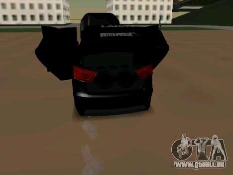 Lada Vesta 2016 für GTA San Andreas rechten Ansicht