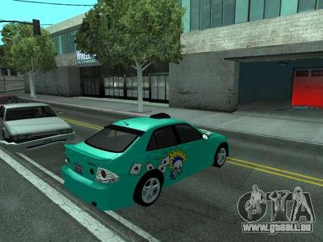 Toyota Altezza Tunable für GTA San Andreas rechten Ansicht
