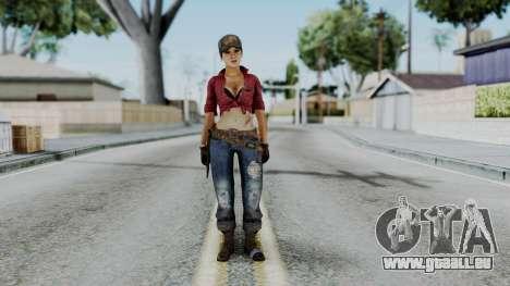 Misty - CoD Black Ops pour GTA San Andreas deuxième écran