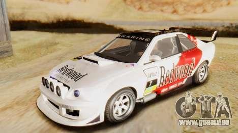 GTA 5 Karin Sultan RS für GTA San Andreas obere Ansicht
