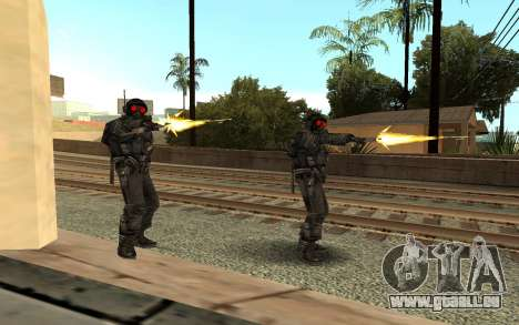 Swat from GTA Criminal Russia pour GTA San Andreas deuxième écran