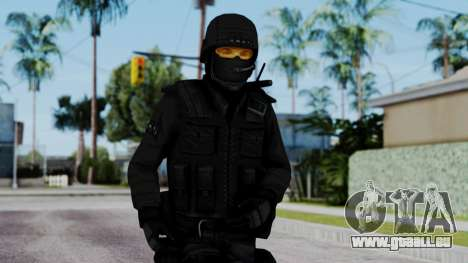 Black SWAT pour GTA San Andreas