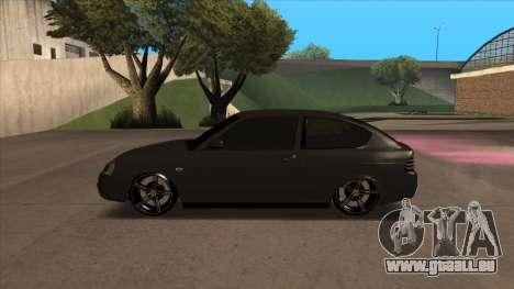 Lada Priora Coupé pour GTA San Andreas laissé vue
