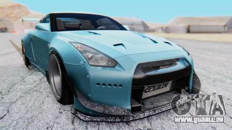 Nissan GT-R R35 Rocket Bunny v2 pour GTA San Andreas vue de droite