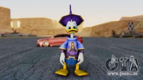 Kingdom Hearts 1 Donald Duck Disney Castle pour GTA San Andreas deuxième écran