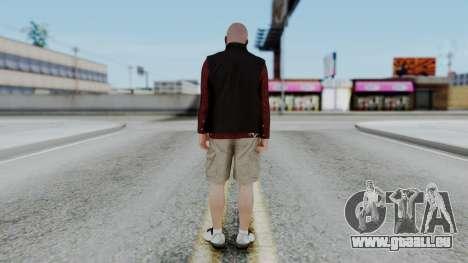 Hunter Costume Michael für GTA San Andreas dritten Screenshot