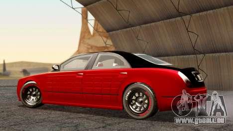 GTA 5 Enus Cognoscenti 55 Arm pour GTA San Andreas sur la vue arrière gauche
