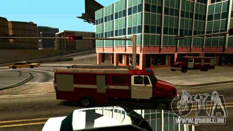 ZIL-5301 für GTA San Andreas Rückansicht
